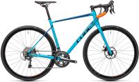 Велосипед Cube Attain Race 53см 2021 (Petrol/Orange) -