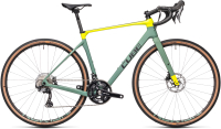 Велосипед Cube Nuroad C:62 Race 53см 2021 (Green/Lime) -