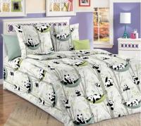 Комплект постельного белья Моё бельё Веселые панды 20829/1 1.5 -