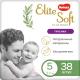 Подгузники-трусики детские Huggies Elite Soft Platinum Mega 5 (38шт) -
