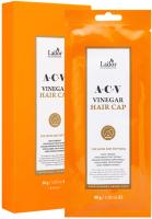 Маска для волос La'dor Acv Vinegar Hair Cap с яблочным уксусом (30г) -