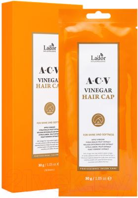 Маска для волос La'dor Acv Vinegar Hair Cap с яблочным уксусом (30г)