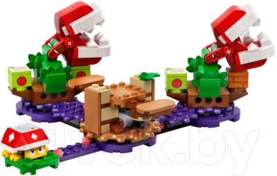 Конструктор Lego Super Mario Загадочное испытание растения-пираньи / 71382