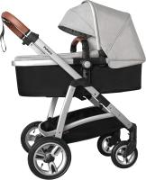 Детская универсальная коляска Baby Tilly Futuro T-165 (Mist Grey) -