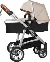 Детская универсальная коляска Baby Tilly Futuro T-165 (Peanut Beige) -
