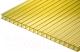 Сотовый поликарбонат TitanPlast 4x1050x2000 (желтый) -