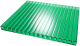 Сотовый поликарбонат TitanPlast 4x1050x2000 (зеленый) -