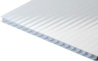 Сотовый поликарбонат TitanPlast 1050x2000x4 (молочный) -