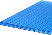 Сотовый поликарбонат TitanPlast 1050x2000x4 (синий) -