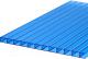 Сотовый поликарбонат TitanPlast 4x1050x2000 (синий) -