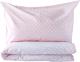 Комплект постельный детский Martoo Comfy С / CMS-3-PN (розовый горох) -
