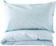 Комплект постельный детский Martoo Comfy С / CMS-3-BL (голубой горох) -