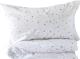 Комплект постельный детский Martoo Comfy С / CMS-3-GRST (серые звезды на белом) -