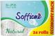 Туалетная бумага Soffione Natural 3х слойная (24шт) -