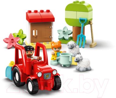 Конструктор Lego Duplo Фермерский трактор и животные / 10950