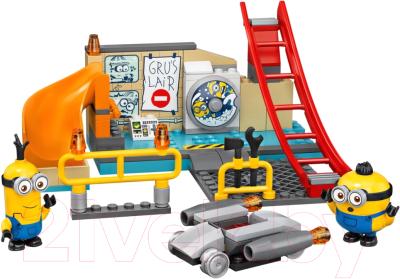 Конструктор Lego Minions Миньоны в лаборатории Грю / 75546