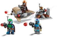 Конструктор Lego Star Wars Боевой набор: мандалорцы / 75267 -