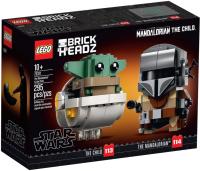 Конструктор Lego Star Wars Мандалорец и малыш / 75317 -