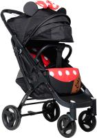 Детская прогулочная коляска Keka Yoya Plus / 2000000030128 (черно-красный/черная рама) -