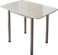 Обеденный стол BTS Белый глянец -