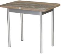 Обеденный стол BTS Дрим 70x120-155 (хром) -