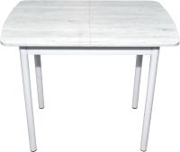 Обеденный стол BTS Лайт 60x90-120 (белый) -