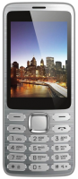 Мобильный телефон Vertex D570 (серебристый) -