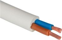 Провод силовой Ecocable ПВС 2x4 (5м, белый) -