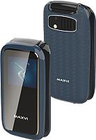 Мобильный телефон Maxvi E2 (маренго) -