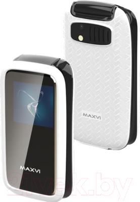 Мобильный телефон Maxvi E2 (белый)