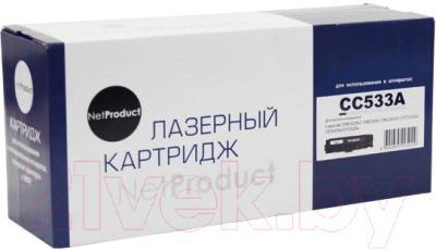 Картридж NetProduct N-CC533A/№718