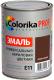 Эмаль Colorika Prof E-11 (900мл, коричневый) -