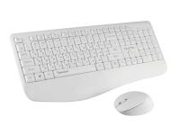 Клавиатура+мышь Qumo Space K57/M75 (белый) -