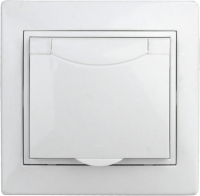Розетка INTRO Plano 1Э-203-01 / Б0038829 (белый) -