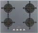 Газовая варочная панель Smeg PV164SSA  -