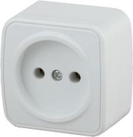 Розетка INTRO Polo 3-201-01 / Б0036097 (белый) -