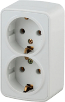 Розетка INTRO Polo 3-204-01 / Б0036100 (белый) -