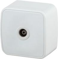 Розетка INTRO Polo 3-301-01 / Б0036101 (белый) -
