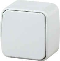 Выключатель INTRO Polo 3-101-01 / Б0036092 (белый) -