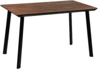 Обеденный стол Alta Square 80x120 (мореный дуб/M черный) -