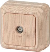 Розетка INTRO Quadro 2-301-11 / Б0027660 (сосна) -