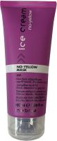 Маска для волос Inebrya Mask No Yellow антижелтая для осветленных и седых волос (100мл) -