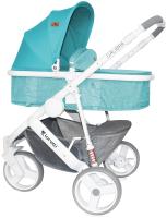 Детская универсальная коляска Lorelli Calibra Aquamarine / 10020781741 -