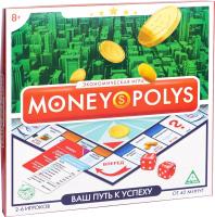Настольная игра Лас Играс Money Polys. Ваш путь к успеху / 1316600 -