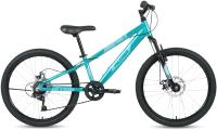 Велосипед Forward Altair 24 D 2021 / RBKT1J347004 (бирюзовый/зеленый) -
