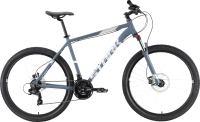 Велосипед STARK Hunter 27.2 HD 2021 (18, серый/серый) -