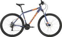 Велосипед STARK Hunter 29.2 HD 2021 (18, синий/оранжевый) -