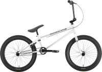 Велосипед STARK Madness BMX 4 2021 (серебристый/черный) -