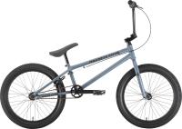 Велосипед STARK Madness BMX 4 2021 (серый/черный) -