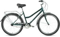 Велосипед Forward Barcelona 26 3.0 2021 / RBKW1C163003 (17, зеленый/серебристый) -